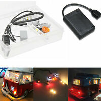 Kit bricolage LED Lumière Éclairage UNIQUEMENT pour interface USB LEGO 10220 VW