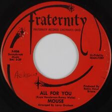 MOUSE: A Public Execution / All For You FRATERNITY Garage Psych 45 MP3