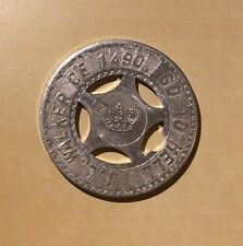 J.L. Walker CE 1490 Go To Hell Good Luck Medallion