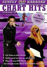 CHART HITS VOL 03 KARAOKE MULTIPLEX DVD - 12 TRACKS