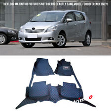 for TOYOTA  Prius V 7 Seats 2012-2015 ZVW40/41  Front & Rear Car Floor Mats