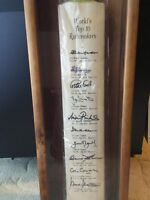 True Cricket Collector's Bat. Signed - By Crickets Greats!