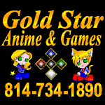 Gold Star Anime & Games!