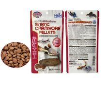 Hikari Sinking Carnivore Pellets Fish Food 74g Catfish Stingrays Plecos