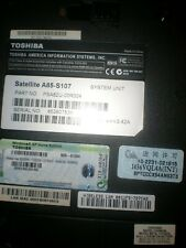 """Toshiba  A85 -S107  14"""" Laptop NOTEBOOK  WORKING COMPUTER  MICROSOFT OFFICE 2003"""
