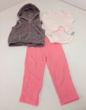 CARTERS INFANT GIRL 3 PIECE MICRO SET 24M NWT $30