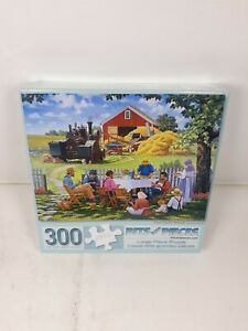 """""""OUR DAILY BREAD"""" 300 LARGE PIECE PUZZLE - BITS & PIECES - 18""""X 24"""" NEW !!"""