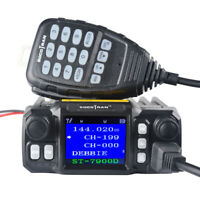 Ham Radio Mobile Transceiver VHF 25W UHF 20W Quad Band Quad Standby FM Radio