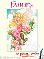 Fairies Adult Colouring Book Creative Gift Fairy Fantasy Mystical Magical Wings