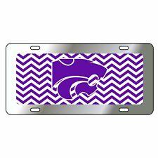 Kansas State Tag (Chevron Stripe Ksu Cat Tag (21239)