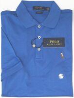 Polo Ralph Lauren Blue Short Sleeve Shirt Mens Classic Fit Cotton NWT NEW $89