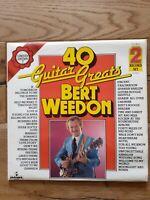 Bert Weedon – 40 Guitar Greats  PLD 8012  2 × Vinyl, LP, Album