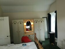 2 Wardrobes And Dressing Table Set