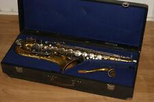 Tenorsaxofon Saxophon Luxor/ Weltklang spielbarer Zustand