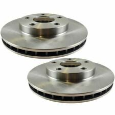 Nakamoto Front Vented Brake Rotor Pair Set for Chevy Malibu Olds Alero Cutlass