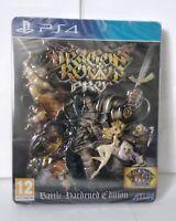 Jeu PS4 Dragon's Crown Pro Battle Hardened Edition PAL Fr + Lot de cartes NEW
