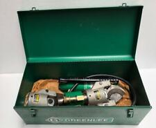GREENLEE 750H767 HYDRAULIC CABLE CUTTER WITH HAND PUMP & EXTRA CUTTER HEAD