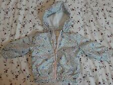 H&M LIGHTWEIGHT BABY GIRLS JACKET REMOVABLE HOOD AGE 4-6 MONTHS NEW