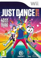 Just Dance 2018 Nintendo Wii * NEW SEALED PAL *