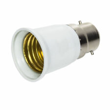 Lamp Light Bulb BAYONET Cap B22 To EDISON Screw E27 Adapter Converter CE Approve