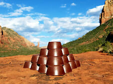 8 Red Rock Sedona Vortex Pucks - Orgonite® Tower Busters -  Orgone Generator®