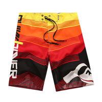 Men Board shorts Surf Beach Shorts Swim Wear Sports Trunks Pants Swimsuit 30-38