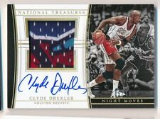 Sick Patch 2015-16 National Treasures NM-CDR Clyde Drexler /10 night moves NBA