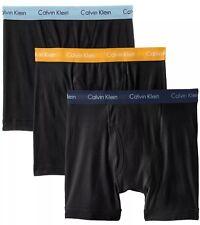 NWT Calvin Klein. Sz M.  Men' 3 Pack, Boxer, Multi-Color  Solid, MSRP $39.50.