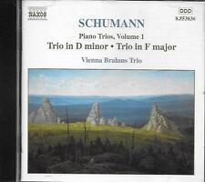 CD album: Schumann: Piano trios, Vol.1. Vienna Brahms trio. naxos. M