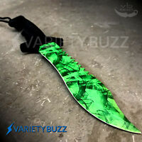 """12"""" TACTICAL SURVIVAL Rambo Full Tang FIXED BLADE KNIFE Bowie Hunting w/ SHEATH"""