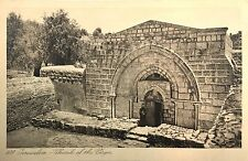 Vintage Postcard: Church of The Virgin, Jerusalem, Israel ca. 20s