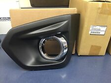 2012-2014 Subaru Impreza LH Left Drivers Side Fog Light Bezel w/ chrome OEM new