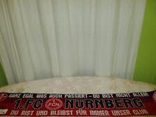 """1.FC Nürnberg Fan Schal """"GANZ EGAL WAS AUCH PASSIERT-DU BIST NICHT ALLEIN"""" TOP"""