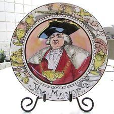 "English Royal Daulton The Professional Series Collector Plate ""The Mayor"" D6283"