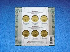 Czech, 20 Korun, 2018, 2019, 6 coins Set, Commemorative, BUNC, Booklet