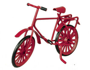 Dolls House accessories   Small Red Bicycle