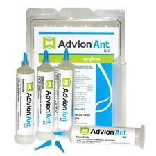 GENUINE ADVION ANT Killer Gel Bait 4 Tubes with Plunger and Tips