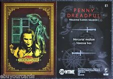 Penny Dreadful Complete Etching Cards Set E1 - E8 Insert Chase Trading Cards