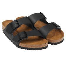 NEW Black Birkenstock Arizona Birko 2 strap Sandals Euro 38 Women's 7 7.5