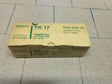 Toner Kyocera TK-17 originale (NO compatibile/rigenerato)- Original brand new