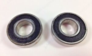 2 - Nordic Track Achiever Exercise Ski Machine Metal Bushings Ball Bearings 1.2""