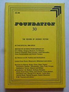 FOUNDATION; THE REVIEW OF SCIENCE FICTION No. 30, Mar 1984 – Josef Nesvadba
