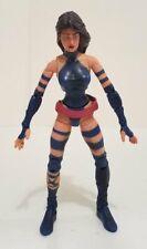 Marvel Legends X-men, Psylocke (2006) + Mojo (lower torso part) BAF Series .