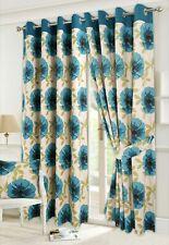 "Pencil Pleat Curtains Penny Poppy 66x90/""//168x229cm"