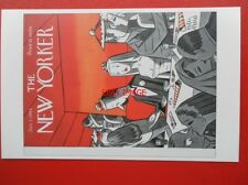 POSTCARD SOCIAL HISTORY THE NEW YORKER COVER JAN 1 1944