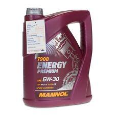 5 (1x5) Liter MANNOL Energy Premium 5W-30, BMW LL-04, VW 505.01/505.00/502.00