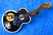 HOUSTON TEX ELVIS PRESLEY DEAD ROCKER ACOUSTIC GUITAR SERIES Hard Rock Cafe PIN