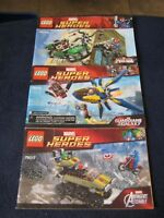 Lego MARVEL Super Heroes~ #76004, #76017, #76019 Instructions ONLY!! 3 Booklets