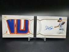 2018 Topps Definitive Noah Syndergaard  Patch Auto Book 2 /5 Mets