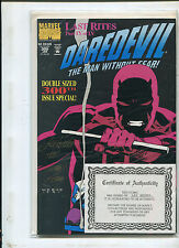 DAREDEVIL #300 (9.2) SIGNED BY LEE WEEKS! ONY 2500 SIGNED!